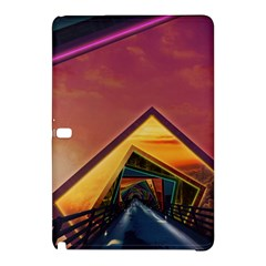 The Rainbow Bridge Of A Thousand Fractal Colors Samsung Galaxy Tab Pro 10 1 Hardshell Case by jayaprime