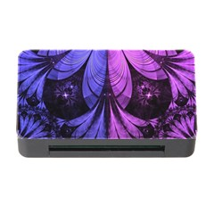 Beautiful Lilac Fractal Feathers Of The Starling Memory Card Reader With Cf by jayaprime