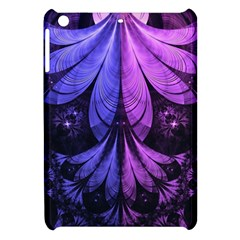 Beautiful Lilac Fractal Feathers Of The Starling Apple Ipad Mini Hardshell Case by jayaprime
