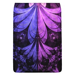 Beautiful Lilac Fractal Feathers Of The Starling Flap Covers (l)  by jayaprime