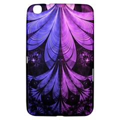 Beautiful Lilac Fractal Feathers Of The Starling Samsung Galaxy Tab 3 (8 ) T3100 Hardshell Case  by jayaprime