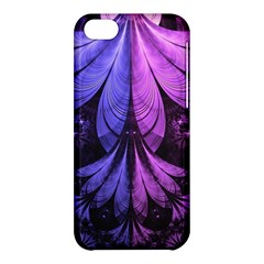 Beautiful Lilac Fractal Feathers Of The Starling Apple Iphone 5c Hardshell Case by jayaprime