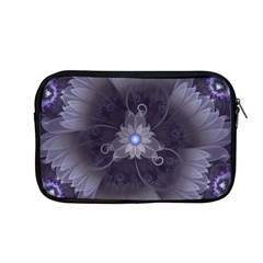Amazing Fractal Triskelion Purple Passion Flower Apple Macbook Pro 13  Zipper Case by jayaprime