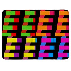 Colorful Rectangles And Squares                  Htc One M7 Hardshell Case by LalyLauraFLM
