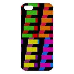 Colorful Rectangles And Squares                  Samsung Galaxy Note 3 Leather Folio Case by LalyLauraFLM