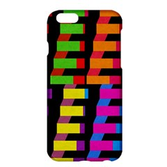 Colorful Rectangles And Squares                  Apple Iphone 6 Plus/6s Plus Enamel White Case by LalyLauraFLM