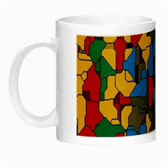 Stained Glass                        Night Luminous Mug by LalyLauraFLM