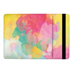 Pastel Watercolors Canvas                  Samsung Galaxy Tab Pro 8 4  Flip Case by LalyLauraFLM
