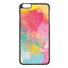 Pastel Watercolors Canvas                  Apple Iphone 6 Plus/6s Plus Hardshell Case by LalyLauraFLM