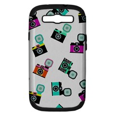 Old Cameras Pattern                  Apple Iphone 5 Classic Hardshell Case by LalyLauraFLM