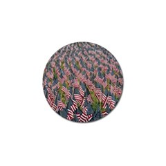 Repetition Retro Wallpaper Stripes Golf Ball Marker by BangZart