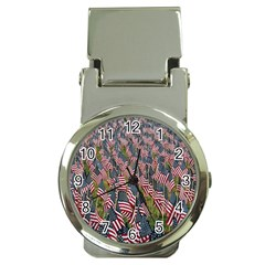 Repetition Retro Wallpaper Stripes Money Clip Watches by BangZart
