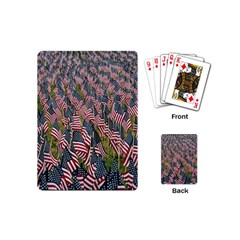 Repetition Retro Wallpaper Stripes Playing Cards (mini)  by BangZart