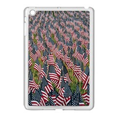 Repetition Retro Wallpaper Stripes Apple Ipad Mini Case (white) by BangZart