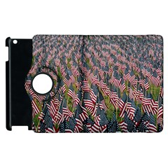 Repetition Retro Wallpaper Stripes Apple Ipad 3/4 Flip 360 Case by BangZart
