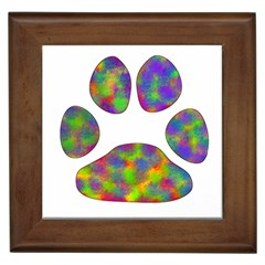 Paw Framed Tiles by BangZart