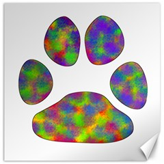 Paw Canvas 20  X 20   by BangZart