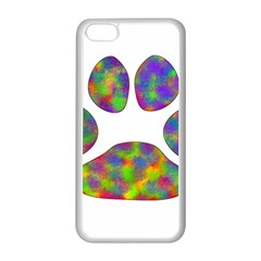 Paw Apple Iphone 5c Seamless Case (white) by BangZart