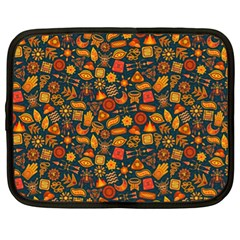 Pattern Background Ethnic Tribal Netbook Case (xl)  by BangZart