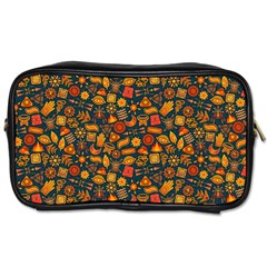Pattern Background Ethnic Tribal Toiletries Bags