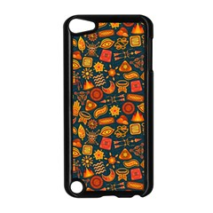 Pattern Background Ethnic Tribal Apple Ipod Touch 5 Case (black) by BangZart