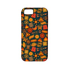 Pattern Background Ethnic Tribal Apple Iphone 5 Classic Hardshell Case (pc+silicone) by BangZart
