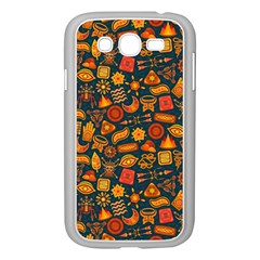 Pattern Background Ethnic Tribal Samsung Galaxy Grand Duos I9082 Case (white) by BangZart