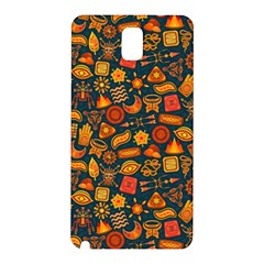 Pattern Background Ethnic Tribal Samsung Galaxy Note 3 N9005 Hardshell Back Case by BangZart