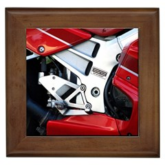 Footrests Motorcycle Page Framed Tiles by BangZart