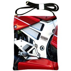 Footrests Motorcycle Page Shoulder Sling Bags by BangZart