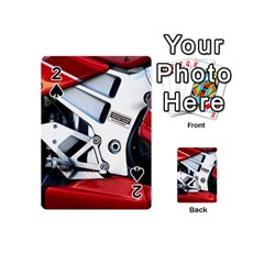 Footrests Motorcycle Page Playing Cards 54 (mini)  by BangZart