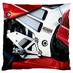 Footrests Motorcycle Page Large Cushion Case (two Sides) by BangZart