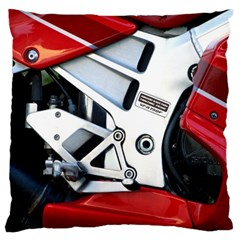 Footrests Motorcycle Page Standard Flano Cushion Case (one Side) by BangZart