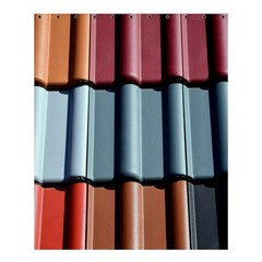 Shingle Roof Shingles Roofing Tile Shower Curtain 60  X 72  (medium)  by BangZart