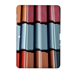Shingle Roof Shingles Roofing Tile Samsung Galaxy Tab 2 (10 1 ) P5100 Hardshell Case  by BangZart