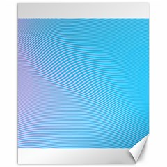 Background Graphics Lines Wave Canvas 16  X 20   by BangZart