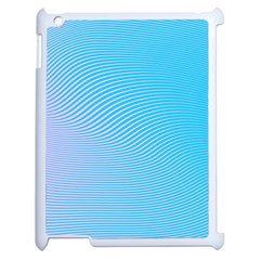 Background Graphics Lines Wave Apple Ipad 2 Case (white) by BangZart