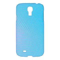 Background Graphics Lines Wave Samsung Galaxy S4 I9500/i9505 Hardshell Case by BangZart