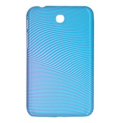 Background Graphics Lines Wave Samsung Galaxy Tab 3 (7 ) P3200 Hardshell Case  by BangZart