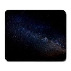 Cosmos Dark Hd Wallpaper Milky Way Large Mousepads by BangZart