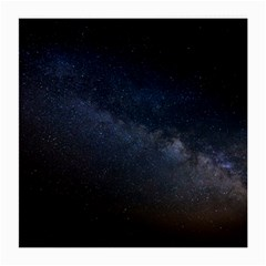 Cosmos Dark Hd Wallpaper Milky Way Medium Glasses Cloth by BangZart