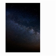 Cosmos Dark Hd Wallpaper Milky Way Large Garden Flag (two Sides) by BangZart