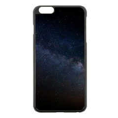 Cosmos Dark Hd Wallpaper Milky Way Apple Iphone 6 Plus/6s Plus Black Enamel Case by BangZart
