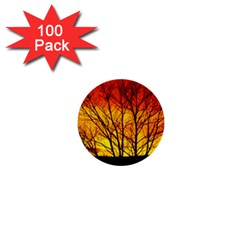 Sunset Abendstimmung 1  Mini Buttons (100 Pack)  by BangZart