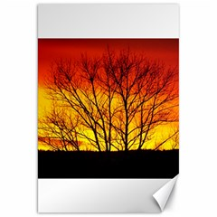Sunset Abendstimmung Canvas 20  X 30   by BangZart