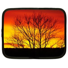 Sunset Abendstimmung Netbook Case (xl)  by BangZart
