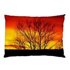 Sunset Abendstimmung Pillow Case (two Sides) by BangZart