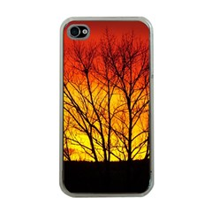 Sunset Abendstimmung Apple Iphone 4 Case (clear) by BangZart