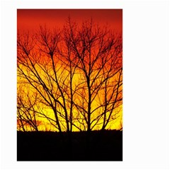 Sunset Abendstimmung Small Garden Flag (two Sides) by BangZart
