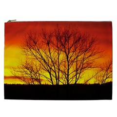 Sunset Abendstimmung Cosmetic Bag (xxl)  by BangZart